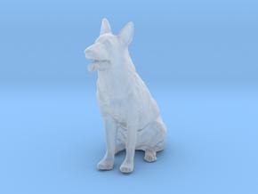 1/24 German Shepherd  in Smooth Fine Detail Plastic