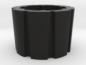 Modeling cups in Black Natural Versatile Plastic