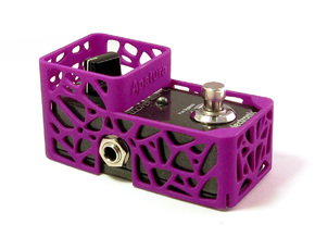 TC Electronic mini 1 knob pedal cover in Purple Processed Versatile Plastic