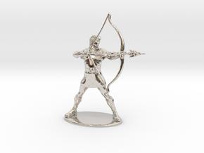 Hank the Ranger Miniature in Platinum: 1:60.96