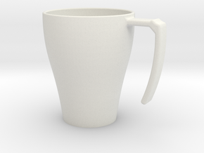 cup. in White Natural Versatile Plastic