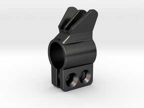".563"" ID Clamp-on front sight in Polished Grey Steel"
