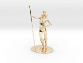 Diana (Acrobat) Miniature in 14K Yellow Gold: 1:60.96