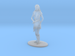 Elven Magic-User Miniature in Frosted Ultra Detail: 1:60.96