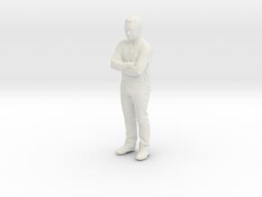 Printle C Homme 255 - 1/24 - wob in White Natural Versatile Plastic