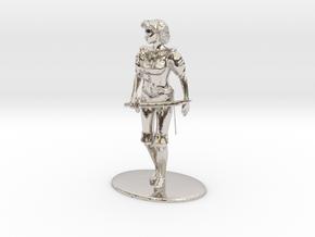 Maquesta Kar-Thon Miniature in Platinum: 1:60.96