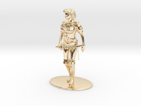 Maquesta Kar-Thon Miniature in 14k Gold Plated Brass: 1:60.96