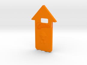 Galaxy S6 Splatoon Squid Case in Orange Processed Versatile Plastic