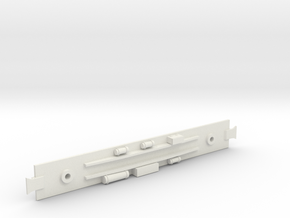 D&RGW Baggage Car  Underframe in White Strong & Flexible