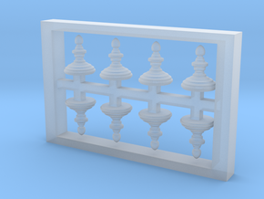 HO Scale Finial Style A in Smoothest Fine Detail Plastic