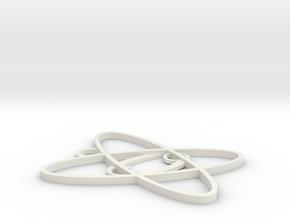 pendant in White Natural Versatile Plastic
