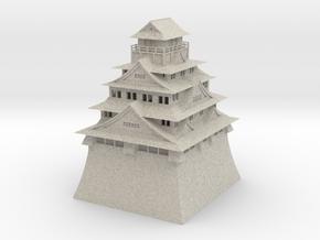 Osaka Castle in Natural Sandstone