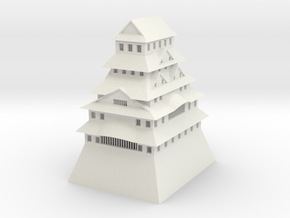 Himeji Castle in White Strong & Flexible