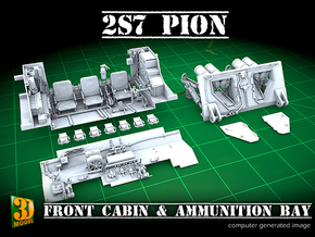 2S7 PION Interior set 1 in Smooth Fine Detail Plastic
