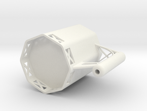 Building construction cup in White Natural Versatile Plastic