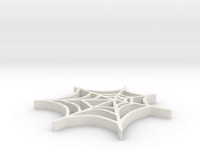 Spider web in White Strong & Flexible: Medium
