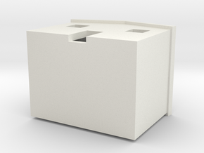 Home1 in White Natural Versatile Plastic: Small