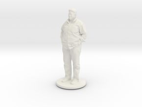 Printle C Homme 011 - 1/43 in White Strong & Flexible