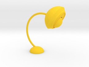 Bending lamp.stl in Yellow Strong & Flexible Polished: Small