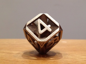 Expanding Dice in Polished Nickel Steel