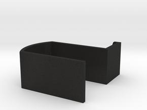 Earhanger in Black Acrylic