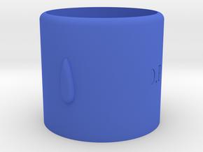 D.P Cup in Blue Processed Versatile Plastic