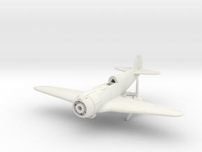1/144 Lavochkin La-5FN in White Natural Versatile Plastic: 1:100