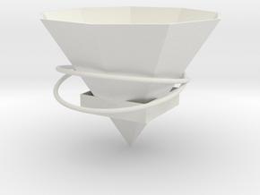 105102321顏上博5 in White Natural Versatile Plastic: Medium
