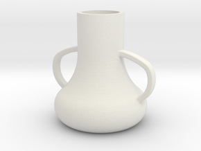 vase.stl in White Strong & Flexible