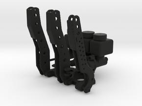 Racing Pedal Box Type 2 - 1/10 in Black Natural Versatile Plastic