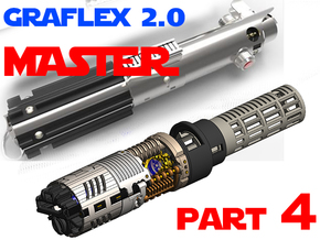 Graflex2.0 - Master Chassis - 4/7 Shell 3 in White Strong & Flexible