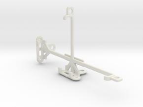 Intex Aqua GenX tripod & stabilizer mount in White Natural Versatile Plastic