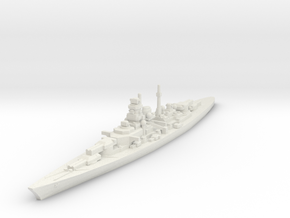 Bismarck class 1/2400 in White Natural Versatile Plastic