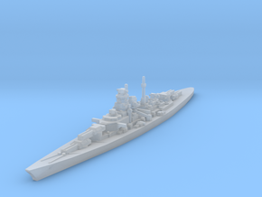 Bismarck class 1/1800 in Smooth Fine Detail Plastic
