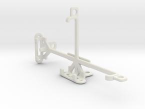 QMobile Linq X70 tripod & stabilizer mount in White Natural Versatile Plastic