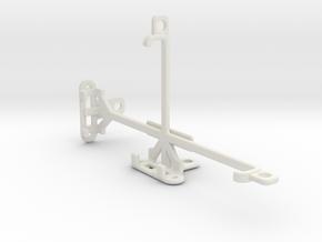 QMobile Noir S1 tripod & stabilizer mount in White Natural Versatile Plastic