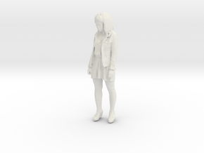 Printle C Kid 017 - 1/24 - wob in White Natural Versatile Plastic