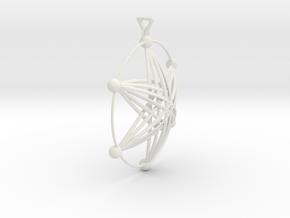 氣質風.stl in White Natural Versatile Plastic: d3