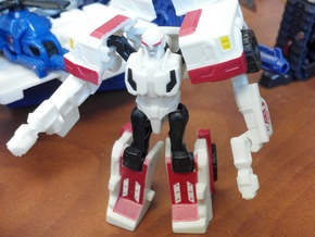 3mm Robots in Disguise Ratchet's Guns in White Natural Versatile Plastic