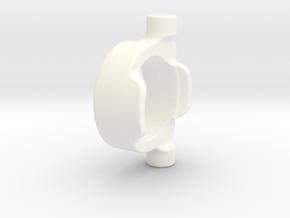 E/T-MAXX Colar for 1/8 Differentials KIT (Rear) in White Processed Versatile Plastic