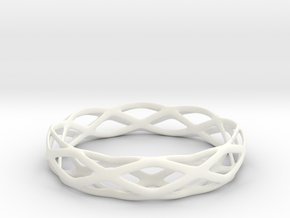 Magic Bracelet in White Processed Versatile Plastic