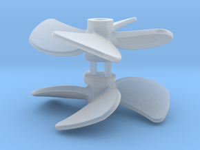 SMIT BRONCO propeller (2pcs) in Frosted Ultra Detail