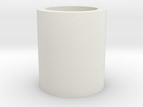 Barrel/Hop Up Spacer 14mm in White Natural Versatile Plastic