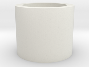 Barrel/Hop Up Spacer 10mm in White Natural Versatile Plastic