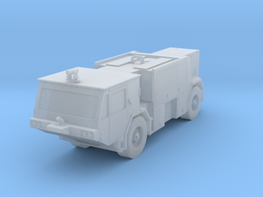 1:144 Scale Oshkosh P-19 Fire truck in Frosted Ultra Detail