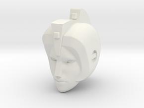 Ariel head for 1st Ed. Prime Arcee in White Natural Versatile Plastic