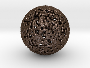 Ball in Polished Bronze Steel
