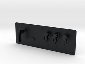 Button Box Type 2 - 1/10 in Black Hi-Def Acrylate