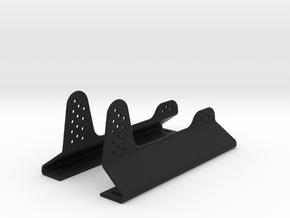 Race Seat Anchoring Kit - Type 1 - 1/10 in Black Natural Versatile Plastic