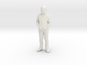 Printle C Kid 030 - 1/24 - wob in White Natural Versatile Plastic